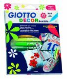 Набор фломастеров для текстиля 12 цв. Giotto - Decor Textile