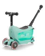 Самокат Micro Mini2go Deluxe Plus Ментоловый MMD031
