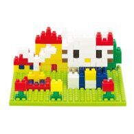 nanoblock Hello Kitty в парке