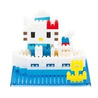 nanoblock Hello Kitty в круизе